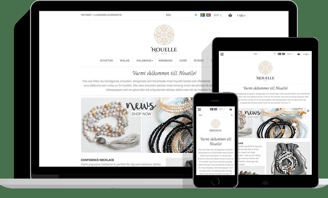 Nouelle – Exempel på 8h design