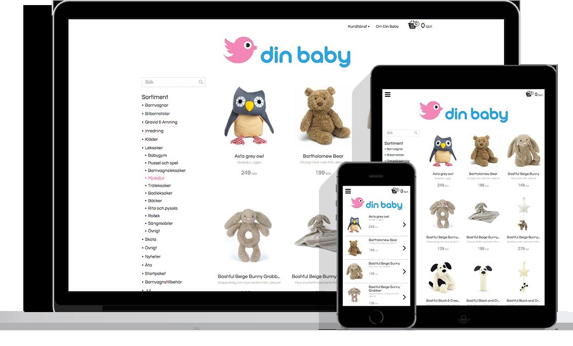 Din baby e-handelslösning