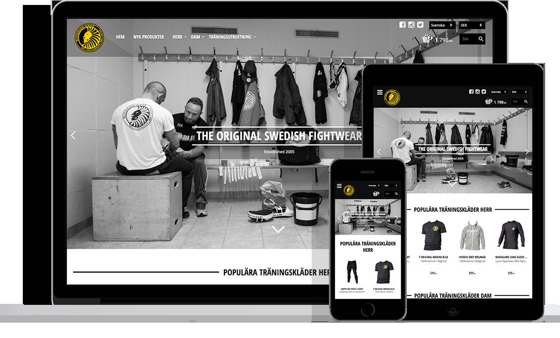 Superior Wear med Starweb e-handelslösning