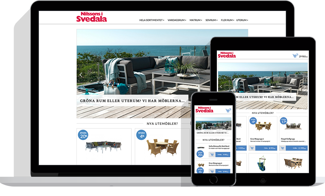 Nilssons i Svedala starta e-handel