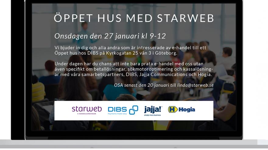 e-handel med Starweb