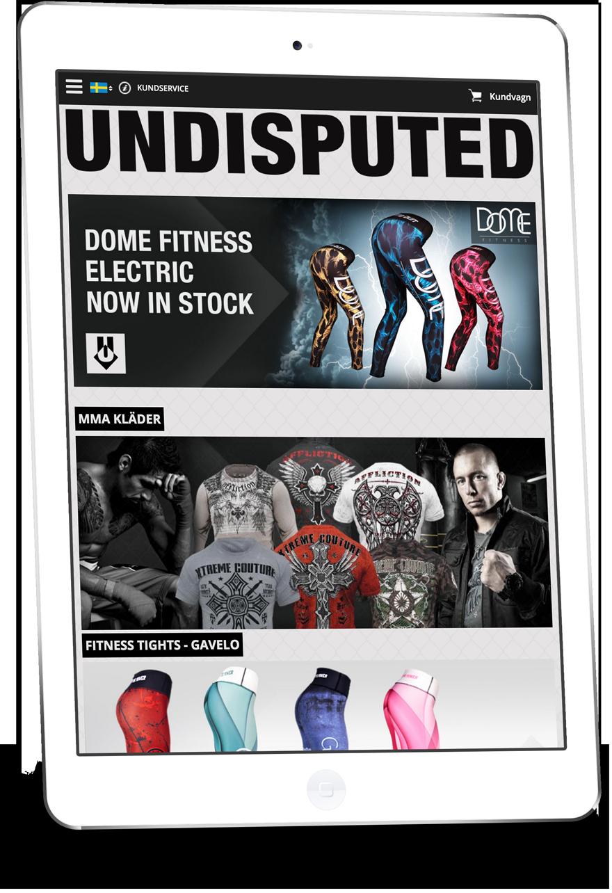Undisputed - Skräddarsydd design av Starweb