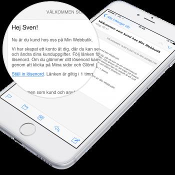 Nu skapas det automatiskt ett kundkonto för de som använder Klarna Checkout i Starweb.