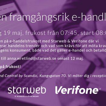 Bli en framgångsrik e-handlare med Starweb