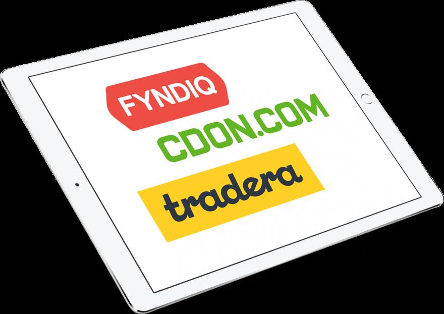 Marknadsplatser Fyndiq, CDON, Tradera