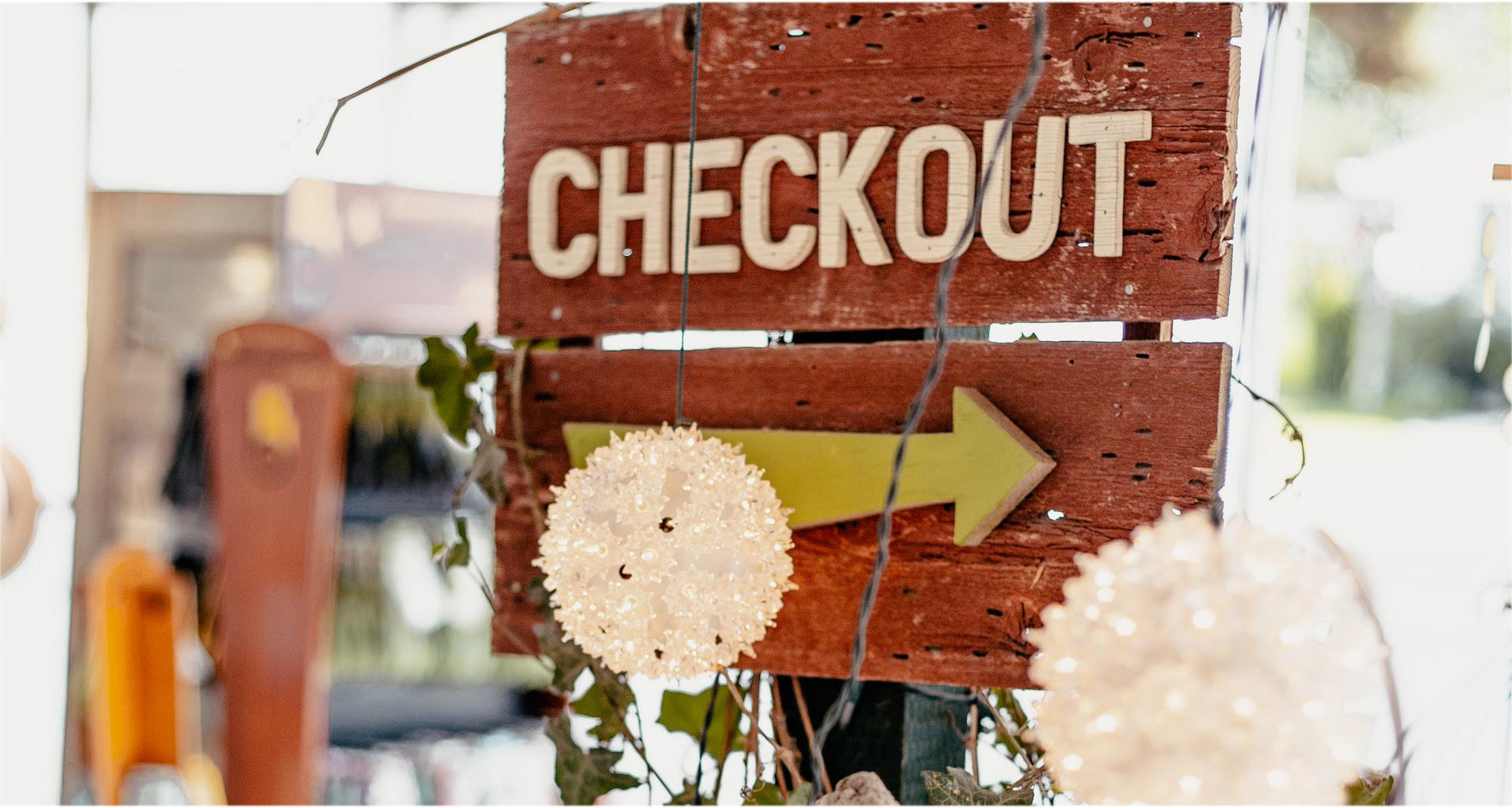 webshop checkout